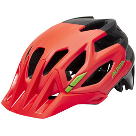 Alpina Garbanzo Helmet neon red-black